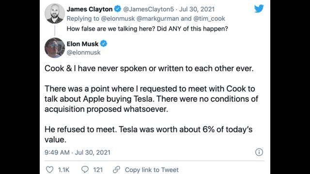 Elon Musk tuits